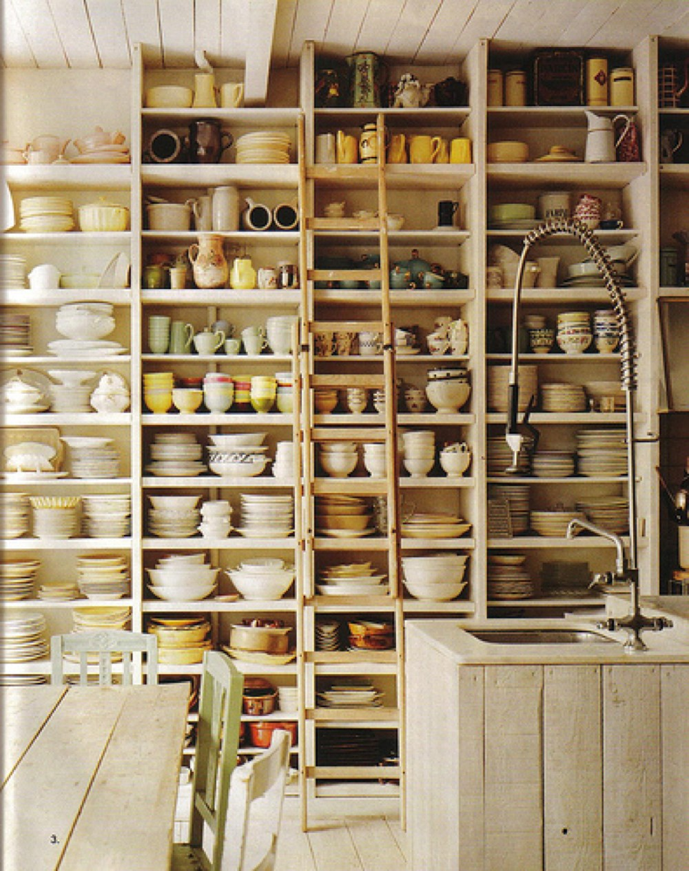 for Country kitchen storage ideas