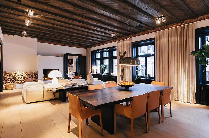 for Piani di casa con design loft