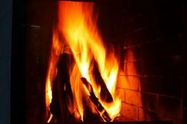 暖炉,炎,ストーブ