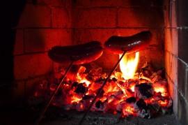 暖炉,炎,ストーブ,埋め込み型暖炉,ビルトイン暖炉,耐熱ガラス