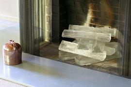 薪,暖炉,ガラス,JEFF BENROTH GLASS