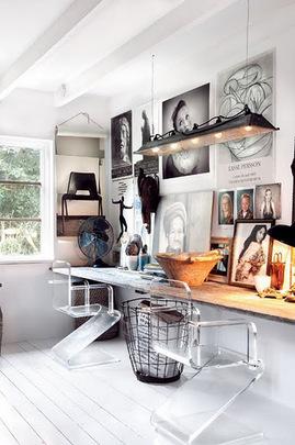 ワークスペース,ビンテージ,暖かみ,書斎