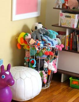子供のおもちゃ,収納,ぬいぐるみ,ワイヤーバスケット