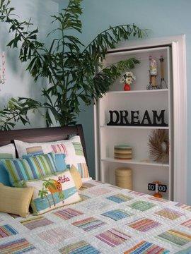 ゲストルーム,寝室,隠し扉