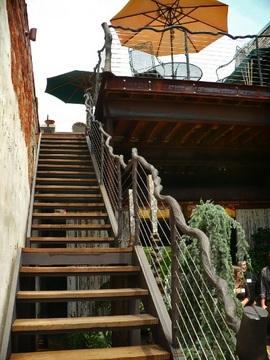 階段,テラス