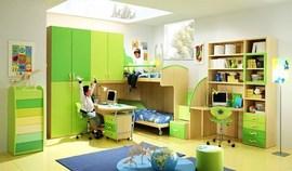 グリーンの子供部屋