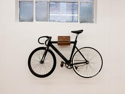 木製自転車ラックMakeに自転車搭載.jpg