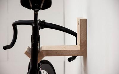 木製自転車ラックMakeに自転車搭載2.jpg