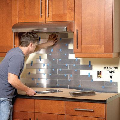 ステンレス製タイルでキッチンの壁をDIY2.jpg