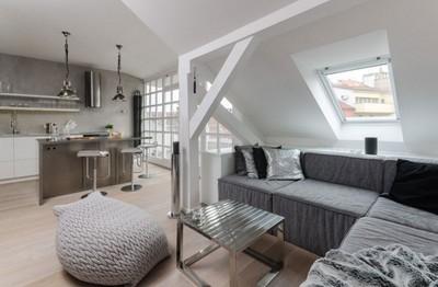 斜め天井と天窓のあるリビング.jpg