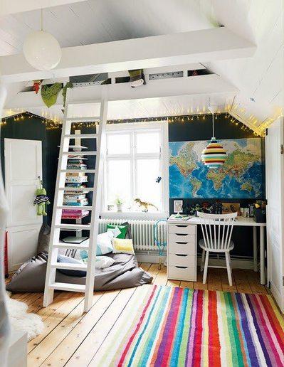 ロフトの子供部屋のベッド.jpg