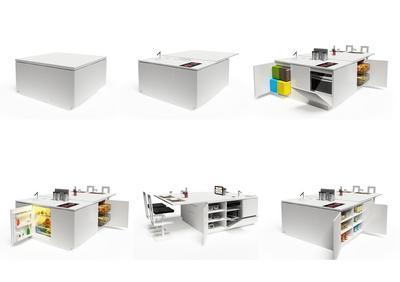隠し収納満載のキッチンカウンター.jpg