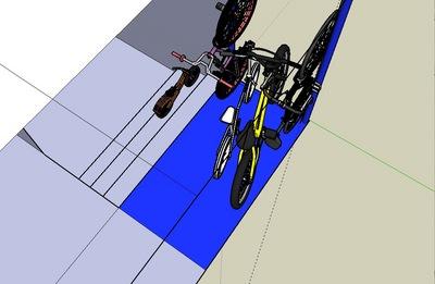自宅駐輪場に自転車4台駐輪.jpg