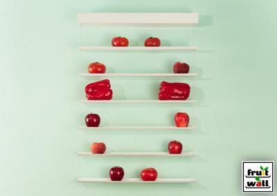壁掛け果物野菜収納フルーツウォール赤.jpg