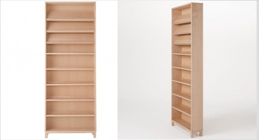 無印良品 組み合わせて使える木製収納・本体・ハイタイプ・奥行14cm