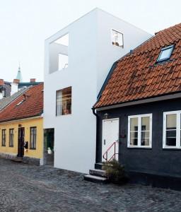 スウェーデンの狭小住宅