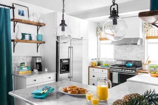 DIYでリノベーションしたキッチン1