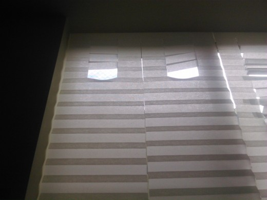 IKEAの和な雰囲気のプリーツブラインドSCHOTTIS