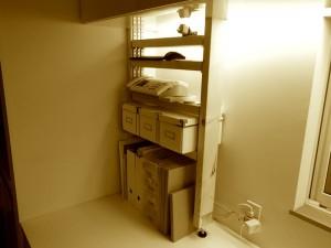 PILLAR BRACKETで作ったシンプルな棚2
