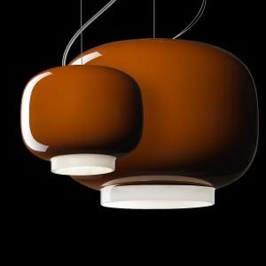 陶器で出来た不揃いで艶々な提灯2
