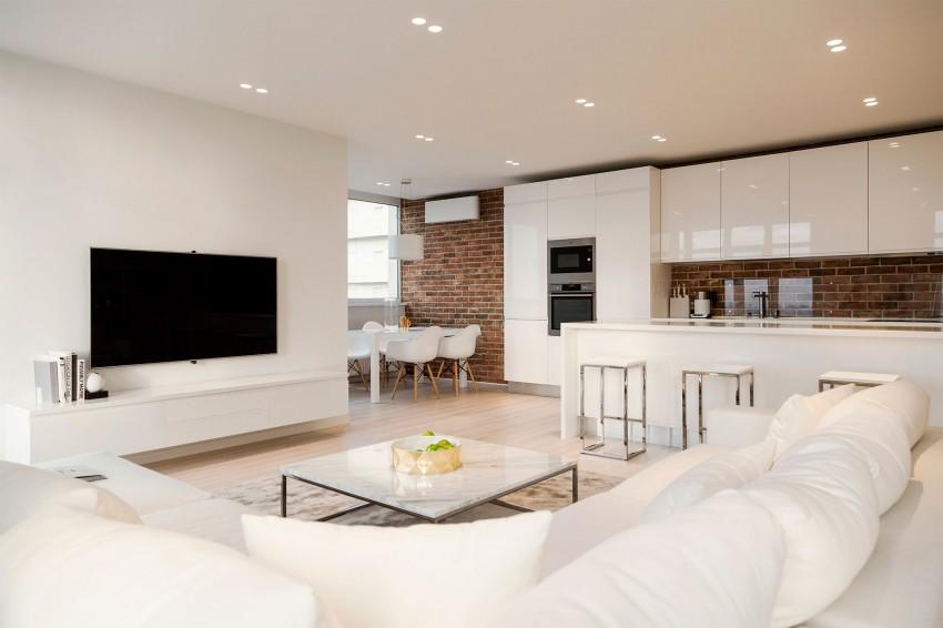 for Dekoration wohnzimmer weiss