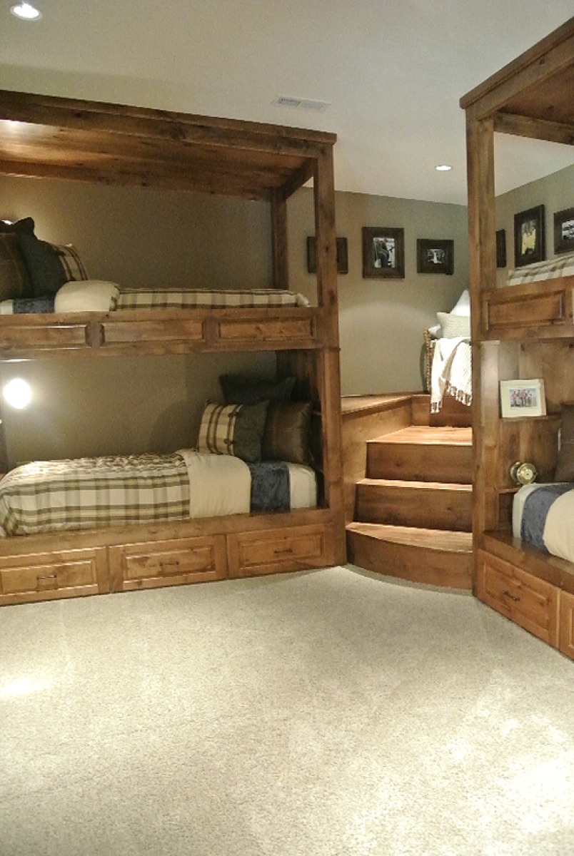 1000 Ideas About Bunk Beds With Stairs On Pinterest Bed Full And Bed Plans