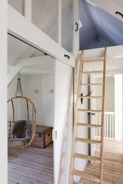 小屋裏収納付きのロフトの子供部屋1