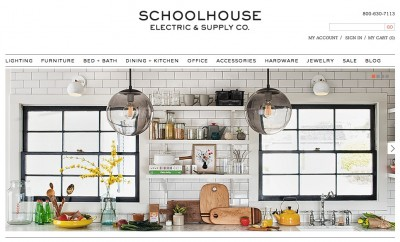 Schoolhouse Electric & Supply Co.のバナー