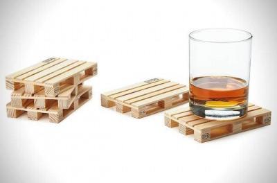 mebelipaletiの木製パレットで作ったコースター