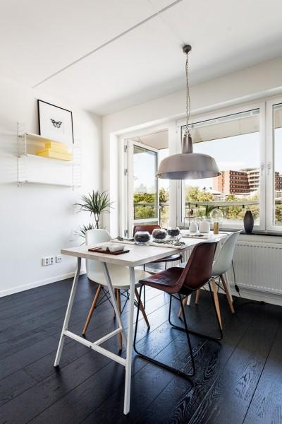ゆったりとした広いベランダと大きな窓のある開放的なダイニング・キッチン2