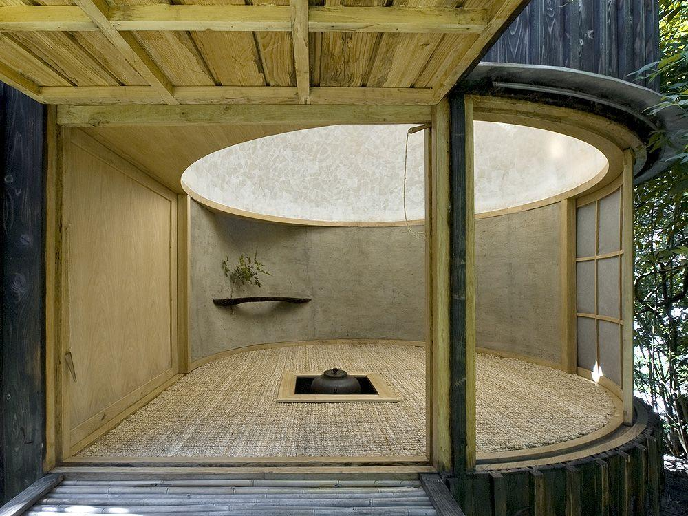 チェコのA1 architectsのデザインした茶室