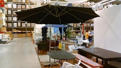 IKEA ハンギングパラソル300cmKARLSOカールスオー3