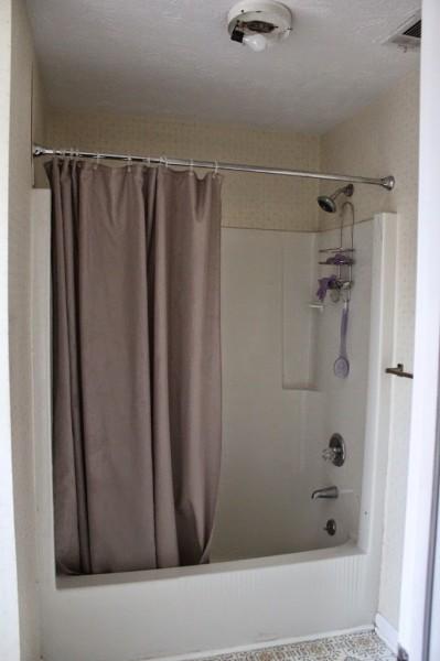 DIYでリノベーションしたバスルームのリノベーション前