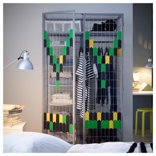 IKEAのワイヤーフレーム・ワードローブPS 2014メタル