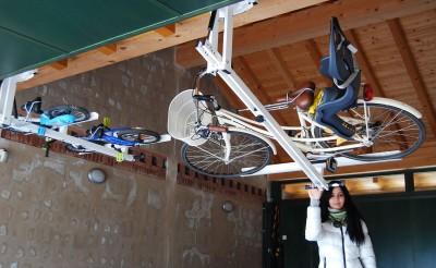 自転車駐輪用ラックflat-bike-lift ママチャリも搭載可能1