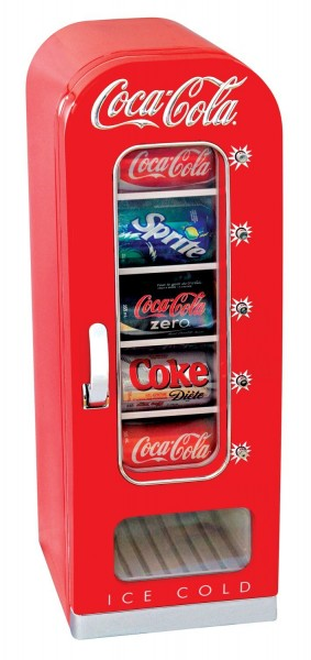 COCA-COLA コカ・コーラ レトロ調 コカコーラ 自動販売機型冷蔵庫